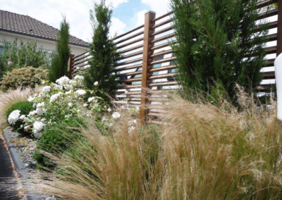 clôture ajourée et végétalisée 49