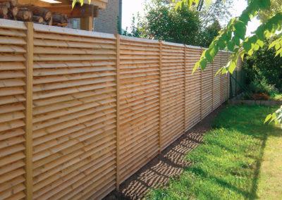clôture bois ajouré 49